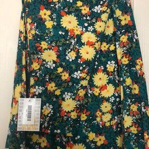 NWT LuLaRoe Maxi - Green Floral